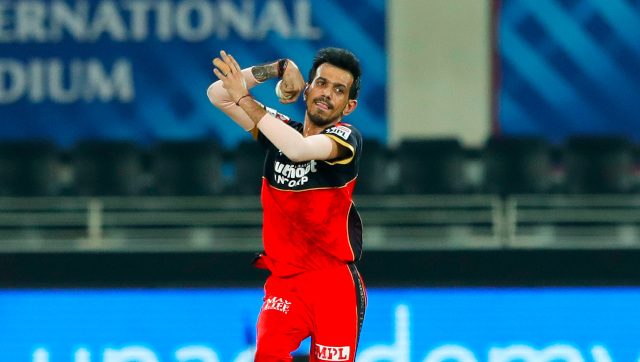 Yuzvendra Chahal has collected five wickets from three matches so far in IPL 2020, including three against SRH in RCB's opening game. Sportzpics