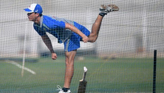 File image of Australia's cricketer Mitchell Swepson. AFP