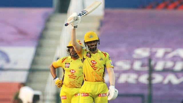 Ruturaj Gaikwad struck his third successive IPL half-century as CSK ended their dismal campaign on a high, with a nine-wicket win over KXIP. Sportzpics