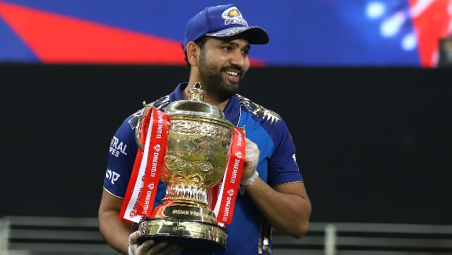 Skipper Rohit led from the front with a 51-ball 68 as Mumbai Indians chased down a target of 157 in 18.4 overs, thereby clinching their unprecedented fifth title. Sportzpics