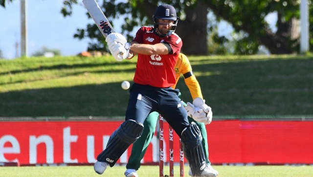 Dawid Malan in action against South Africa. AFP