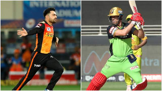 Expectayions will be high for both Rashid Khan and AB de Villiers to outperform each other. Sportzpics