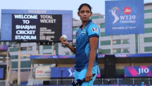Skipper Harmanpreet Kaur said ordinary performance by both batters and bowlers during the slog overs resulted in Supernovas' five-wicket defeat against Velocity. Image: Sportzpics for BCCI
