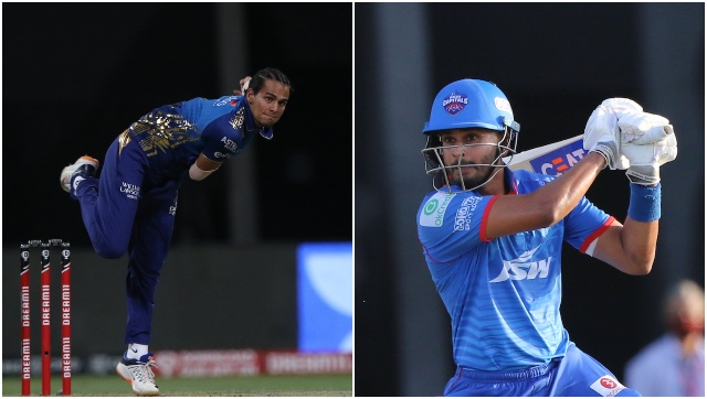 MI spinners, including Chahar, will definitely entice Iyer in the hope of another mistimed shot from his blade. Sportzpics