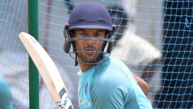 File picture of Mayank Agarwal. Twitter @mayankcricket