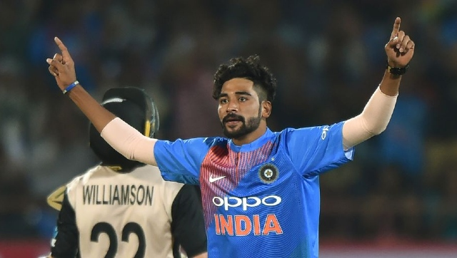 File image of Mohammed Siraj. AFP