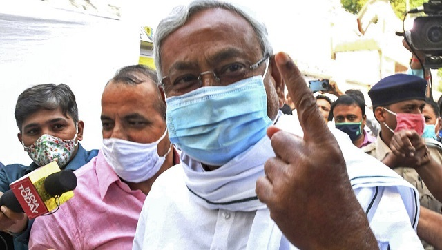 Bihar Assembly elections phase 2 Peaceful polling with low turnout complaint in EC against Modis Saharsa speech