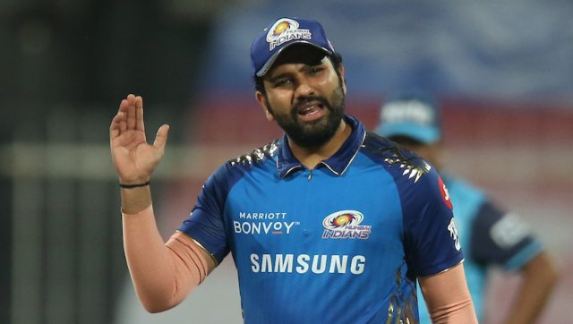 Rohit Sharma made a comeback on a day when BCCI president Sourav Ganguly advised not to rush his comeback from what he called a 'hamstring tear'. Image: Sportzpics for BCCI