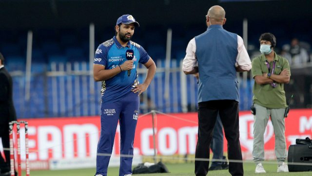Despite not being a part of the India squads for the Australia tour which begins from 27 November due to an injury concern, Rohit Sharma has continued to play in IPL 2020. Image: Sportzpics for BCCI