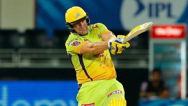 While he wasn't used as a bowling option by CSK, Shane Watson collected 299 runs from 11 games in IPL 2020. Sportzpics