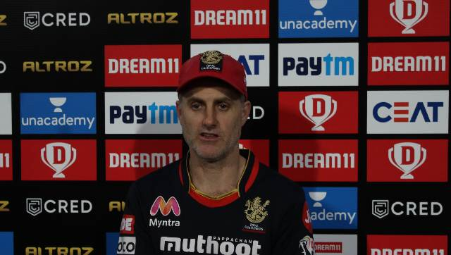 Simon Katich gave due credit to Sunrisers Hyderabad bowlers who restricted them to a below-par score. Sportzpics