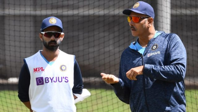 Ajinkya Rahane will be captaining India in the series in the absence of Virat Kohli. AFP