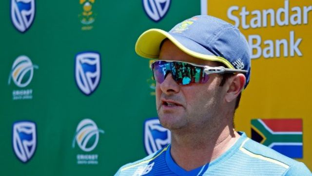 """Mark Boucher said there were """"a couple of niggles"""" involving fast bowlers Lungi Ngidi and Glenton Stuurman that would delay the final selection of a playing eleven. AFP"""