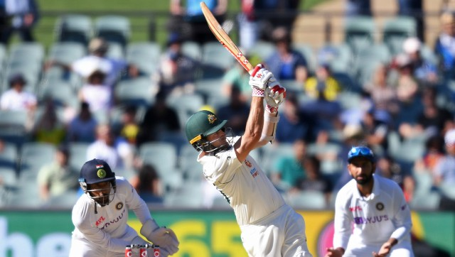The 31-year-old top-scored in Australia's second innings and he said it felt nice to be back among the runs. Image: AP