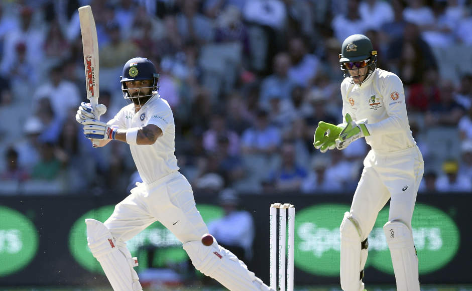 Virat Kohli and Tim Paine had a few run-ins during the 2018-19 Test series.
