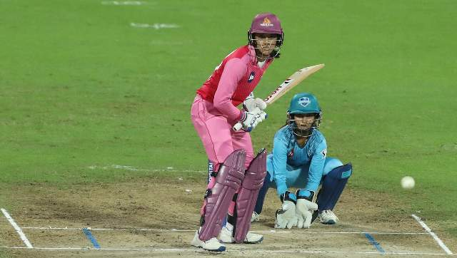 File image of Smriti Mandhana during the Women's T20 Challenge 2020. Sportzpics
