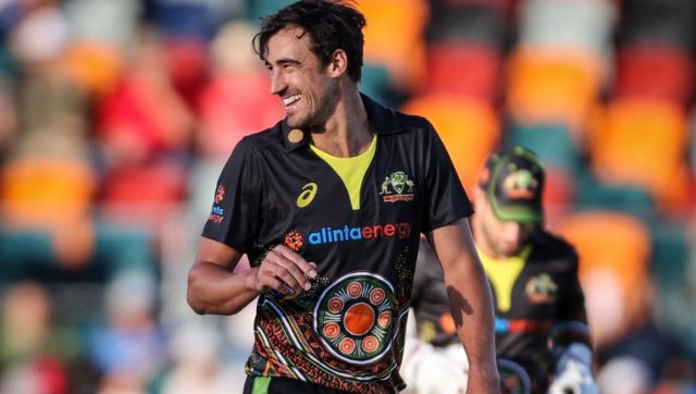 Mitchell Starc left the Australian squad due to an unspecified family illness. AFP