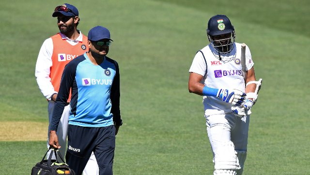Mohammed Shami had been hit on the right forearm during India's second innings. AP