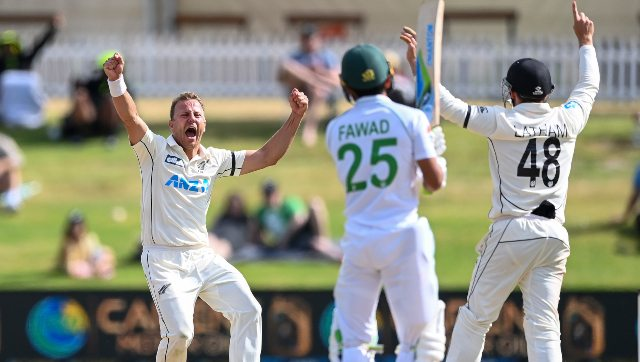Neil Wagner bowled after taking pain-killing injections and took the wicket of centurion Fawad Alam as New Zealand won the match against Pakistan in thrilling circumstances. AP
