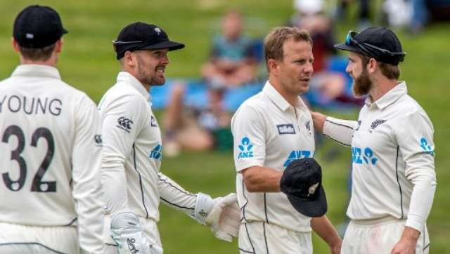 Neil Wagner picked up four wickets during the Windies' follow-on. AFP