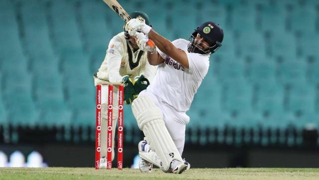 Rishabh Pant scored a century in the practice match against Australia A. Image: BCCI/Twitter