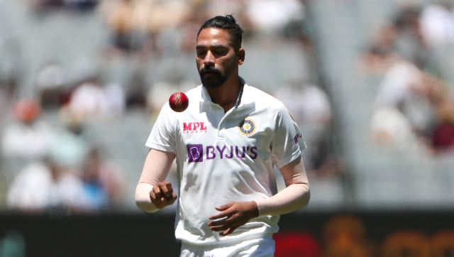 Mohammed Siraj returned with figures of 2/40, claiming the wickets of Marnus Labuschagne and Cameroon Green. AFP