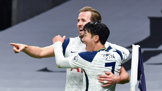 Premier League Son Heungmin Harry Kane score as Tottenham win North London derby Liverpool beat Wolves