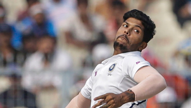 Umesh Yadav is likely to take charge as India's third seamer in Ishant Sharma's absence. AP