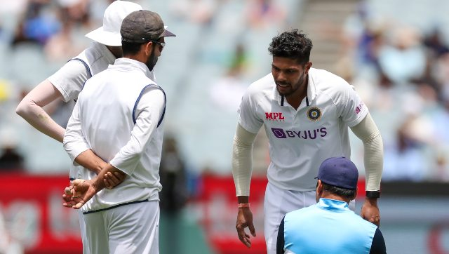 Umesh Yadav suffered the injury during the third day of the Boxing Day Test. AP