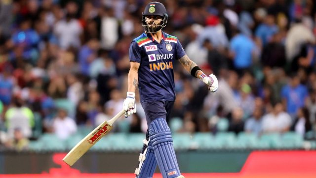 In the middle overs, from 7 to 15 overs, of T20s in 2020, Virat Kohli has a scoring rate of 6.91 runs per over. AFP