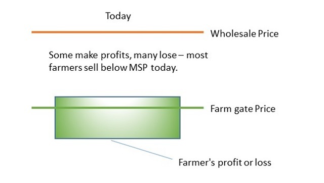 Farms Acts necessary for Green Revolution 20 transparency income support incentives and communication are key