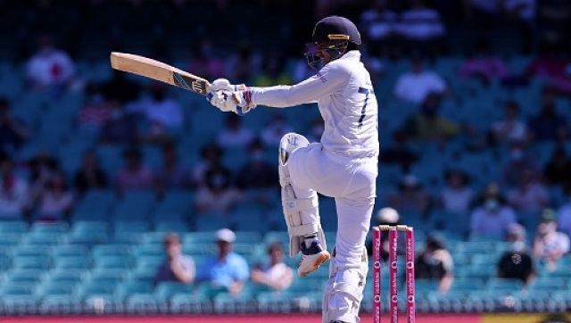 India's Shubman Gill in action during Test series against Australia. AP