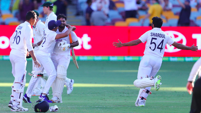 Rishabh Pant Shubman Gill help India breach Fortress Gabba seal historic Test series win over Australia