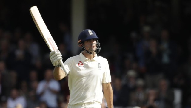 Cook struck 190 in the third Test against India in 2012 and was adjudged the Player of the Match. AP