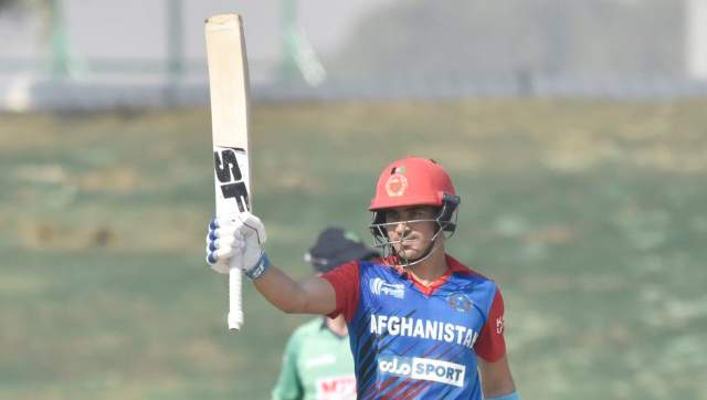 Rahmanullah Gurbaz reached his hundred off 115 deliveries and went on to make 127, which included nine sixes and eight fours, before slogging a long hop from Gareth Delany down the throat of Simi Singh on the square leg boundary. Twitter @ACBofficials