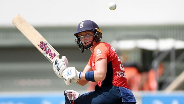 File image of England women's cricket captain Heather Knight. Image credit: Twitter/@ICC