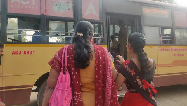 2020 year of the pandemic How this visuallyimpaired Chennai woman struggled with daily commute in the face of COVID19