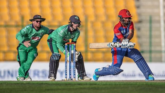 Rahmat Shah smashed an unbeaten century to guide Afghanistan to a seven-wicket victory over Ireland. Image Courtesy: Ireland Cricker