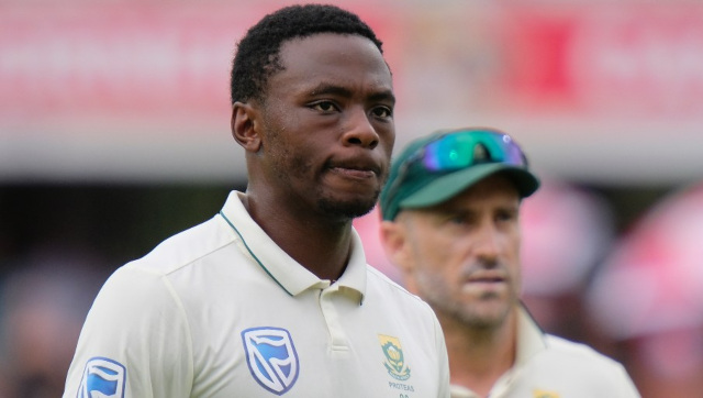 File image of South Africa pacer Kagiso Rabada. AP