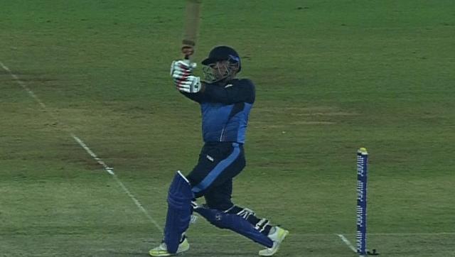 Captain Kedar Devdhar top-scored for Baroda with a 49-ball 64. Image credit: Twitter/@BCCIdomestic