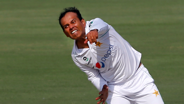 Left-arm spinner Nauman Ali makes his Test debut for Pakistan at the age of 34 in the ongoing match against South Africa. AP