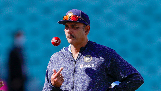 File image of India head coach Ravi Shastri. AP