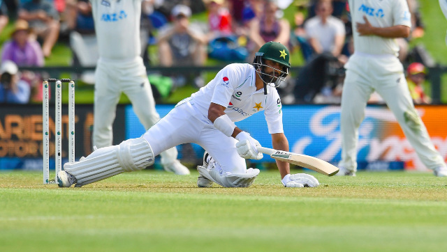 Shan Masood had a miserable run with the bat in New Zealand, collecting just 10 runs, including three ducks, in the two Tests. AP