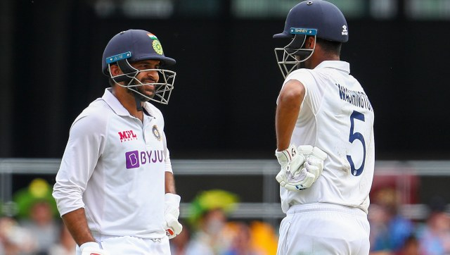 Shardul Thakur and Washington Sundar added 123 runs for the seventh wicket to help India score 336 in reply to Australia's first innings total of 369. AP