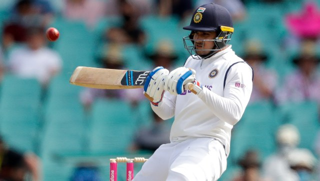 Shubman Gill's 50 off 1010 deliveries helped India make a resolute start against Australia. AP