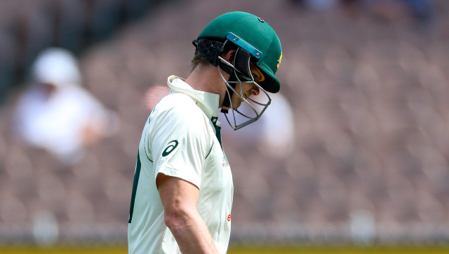 Steve Smith has endured a shocking slump in form in the India Test series, registering scores of 1, 1*, 0 and 8 in the two matches. AP