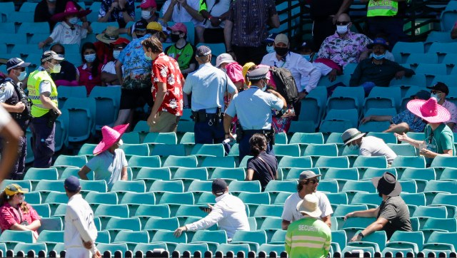 In a second incident, six people were removed from SCG stands on Sunday after Mohammed Siraj complained of abuse. AP