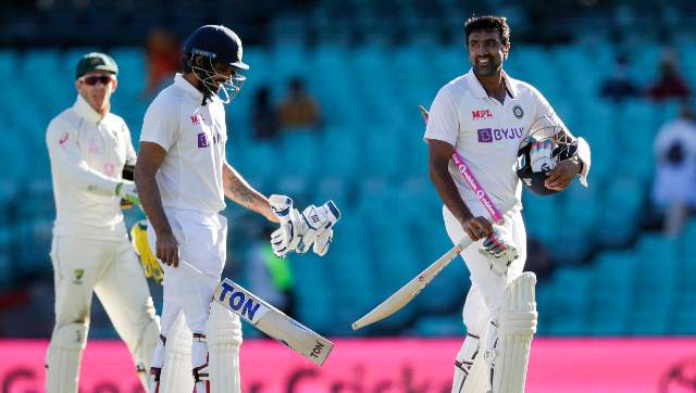 The 34-year-old Ashwin, who did not score big in his previous four innings, said he also took confidence from his batting record at the SCG. AP