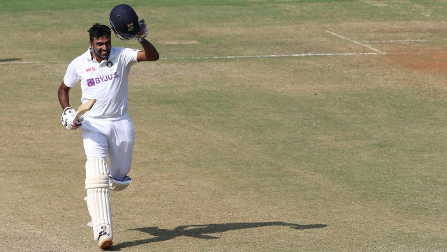 After claiming a five-for in the first innings, Ashwin top-scored for India with a century (106) in the second essay of the second Test against England. Sportzpics