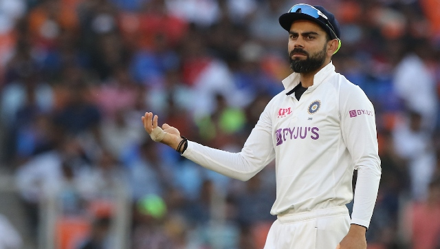 """India skipper Kohli felt it was a case of """"below-par batting from both teams"""" rather than the pitch conditions that triggered batting collapses at Motera. Sportzpics"""